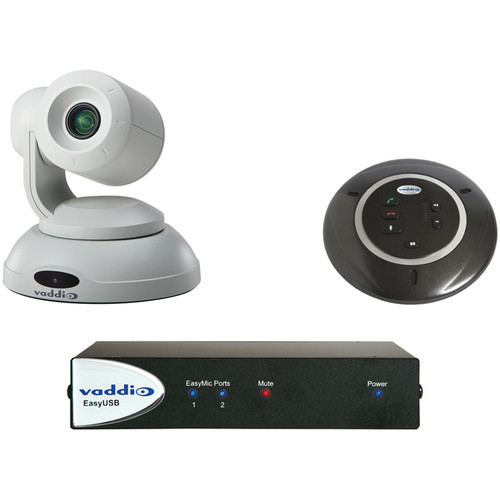 Vaddio ClearSHOT Conference Bundle (White Camera)