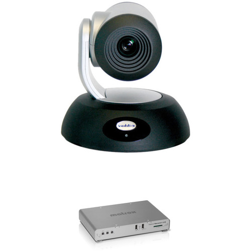 Vaddio RoboSHOT 12 HD-SDI PTZ Camera with Monarch LCS Lecture Capture Appliance Kit