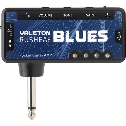 Valeton RH-2 Rushhead Pocket Headphone Amplifier (Blues)