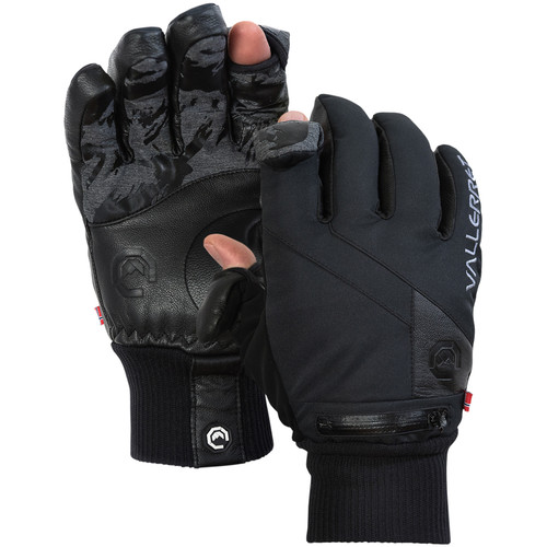 Vallerret Ipsoot Photography Gloves (Small, Black)