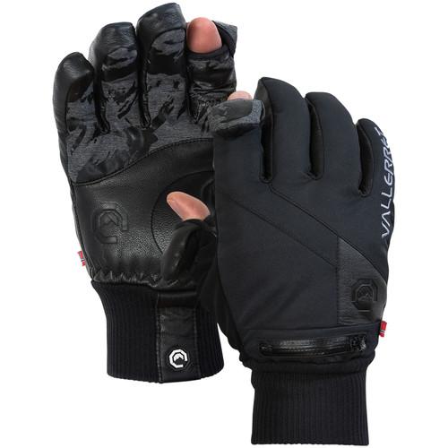 Vallerret Ipsoot Photography Gloves (Large, Black)