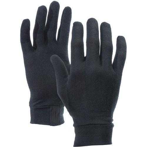 Vallerret Merino Liners for Photo Gloves (Large, Black)