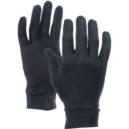 Vallerret Merino Liners for Photo Gloves (Extra-Large, Black)