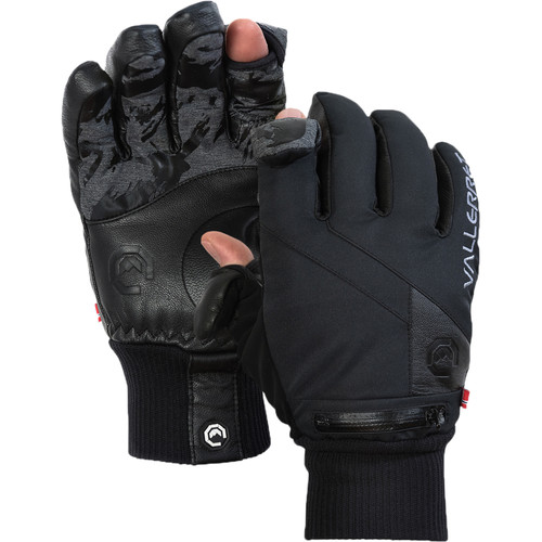 Vallerret Ipsoot Photography Gloves (Extra-Small, Black)
