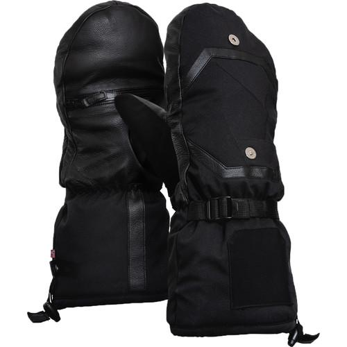 Vallerret Alta Over-Mitt Photography Gloves (Black, Large)
