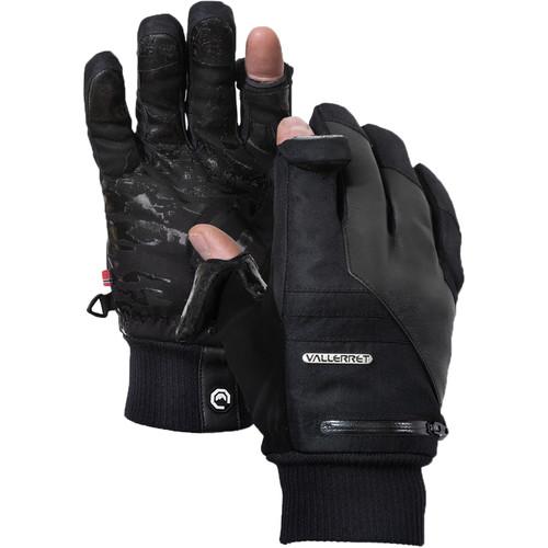Vallerret Markhof Pro Model 2.0 Photography Gloves (Black, Large)