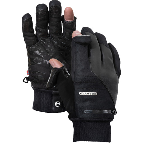 Vallerret Markhof Pro Model 2.0 Photography Gloves (Black, Small)