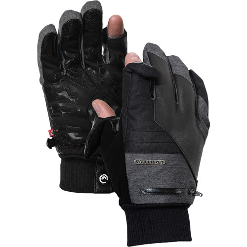 Vallerret Markhof Pro Model 2.0 Photography Gloves (Gray, Small)