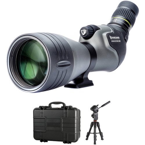 Vanguard Endeavor HD 20-60x82 Spotting Scope Tabletop Kit (Angled Viewing)