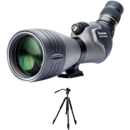 Vanguard Endeavor HD 20-60x82 Spotting Scope Kit (Angled Viewing)