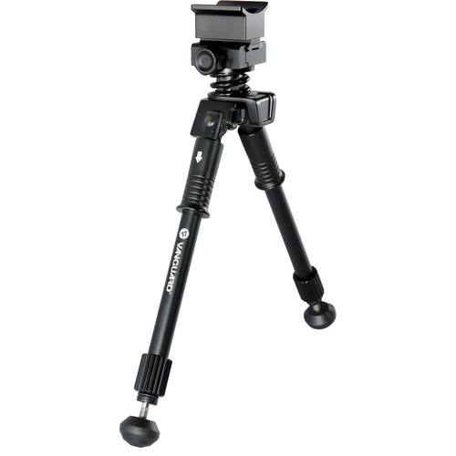 Vanguard Equalizer 1QS Pivoting Bipod for Prone Position