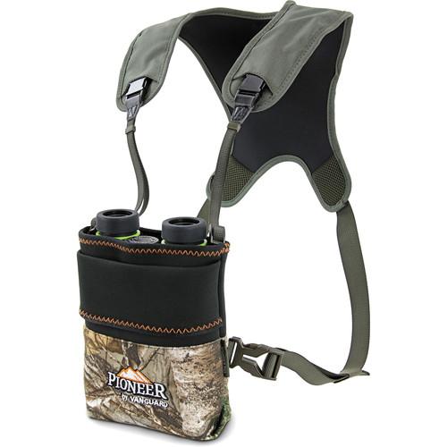 Vanguard Pioneer PH1 Binocular Pouch & Harness (RealTree Xtra Camo)