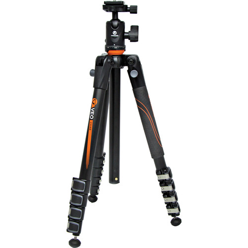 Vanguard VEO 235AB Aluminum Tripod Kit with TBH-50 Ball Head and VEO 42 Backpack