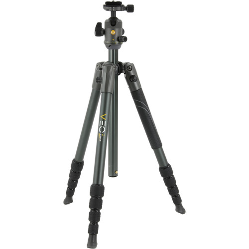 Vanguard VEO 2 235AB Aluminum Tripod with Ball Head (Gray/Black, 4.75')