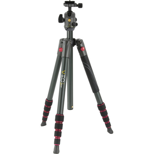 Vanguard VEO 2 235AB Aluminum Tripod with Ball Head (Red)