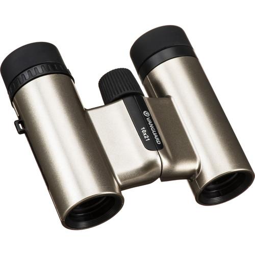 Vanguard 10x21 Vesta Compact 21 Binocular (Champagne)