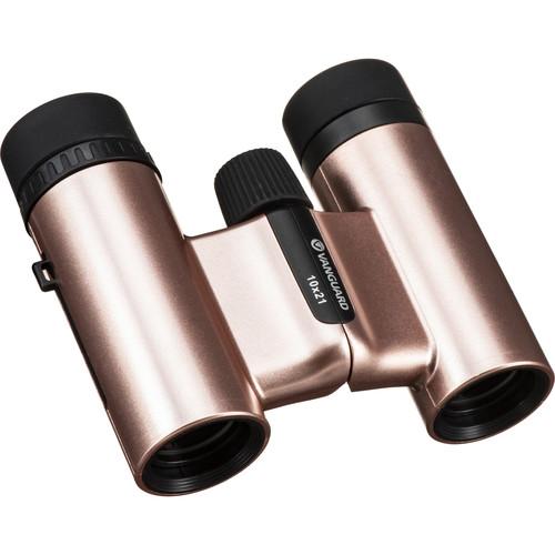Vanguard 10x21 Vesta Compact 21 Binocular (Rosaline)