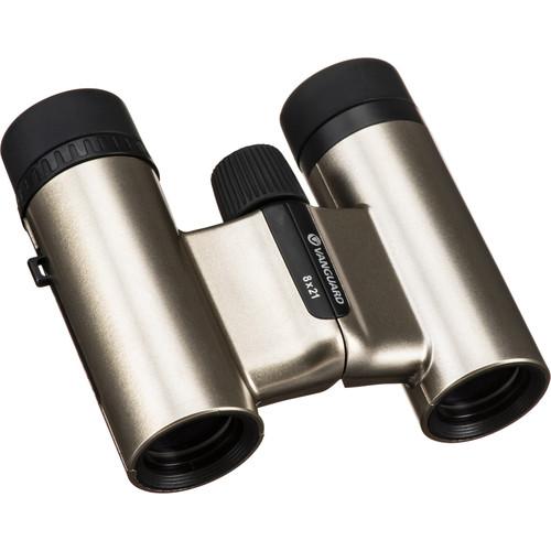 Vanguard 8x21 Vesta Compact 21 Binocular (Champagne)