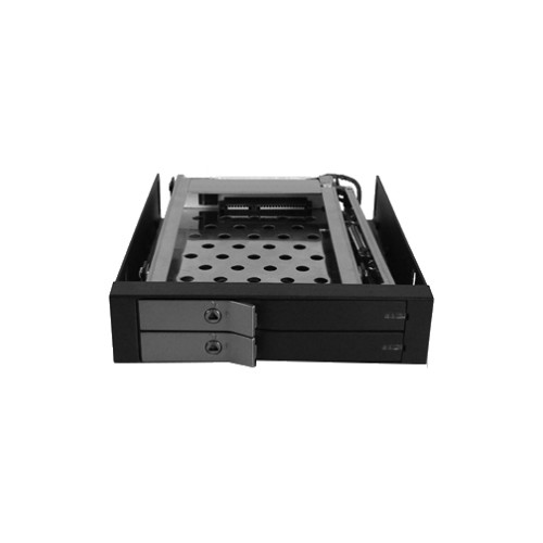 "Vantec EZ Swap EVO Dual Bay 2.5"" SATA SSD/ HDD Removable Rack"