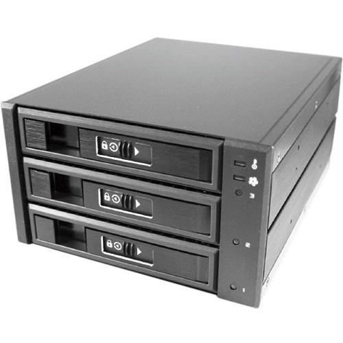 """Vantec EZ Swap M3500 Series 3.5"""" Mobile Rack (3-Bay)"""