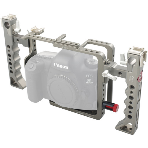 Varavon Zeus Premium Cage for Canon 5D Mark 4 and 3 Cameras (Charcoal)