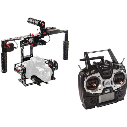 Varavon Birdycam II 3-Axis Motorized Gimbal Stabilizer with Remote Controller
