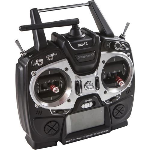 Varavon Graupner MZ-12 HoTT 2.4GHz 6-Channel Radio Controller