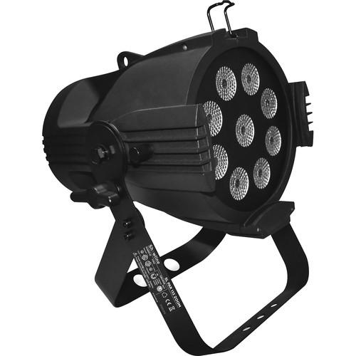 VARI-LITE Showline SL PAR 155 Zoom, 9x15W RGBW, LED Optics, 8-40 Degree Manualzoom with Powercon Connecto