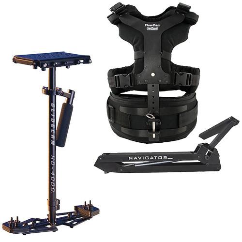 VariZoom Navigator Universal with Heavy-Duty Arm & HD4000 Camera Stabilizer Kit
