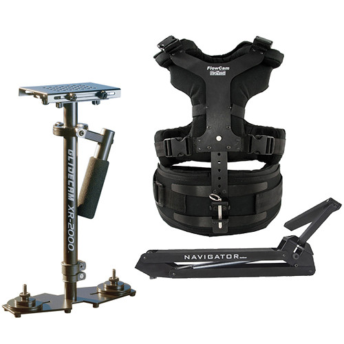 VariZoom Navigator Universal with Heavy-Duty Arm & XR-2000 Camera Stabilizer Kit