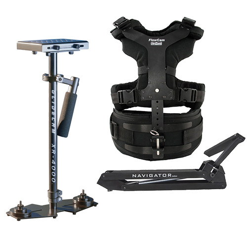 VariZoom Navigator Universal with Heavy-Duty Arm & XR-4000 Camera Stabilizer Kit