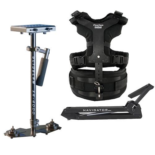 VariZoom Navigator Universal with Heavy-Duty Arm & XR-4000 Camera Stabilizer Kit
