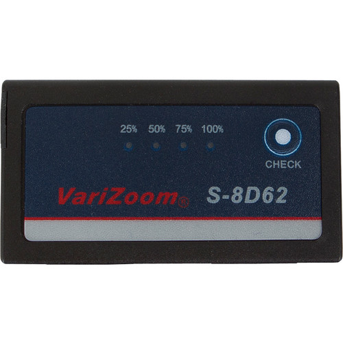 VariZoom S-8D62 7.2V High-Capacity Replacement Battery