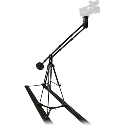 VariZoom Solo Jib Kit with Aluminum Tripod and Slider Dolly (Aluminum)