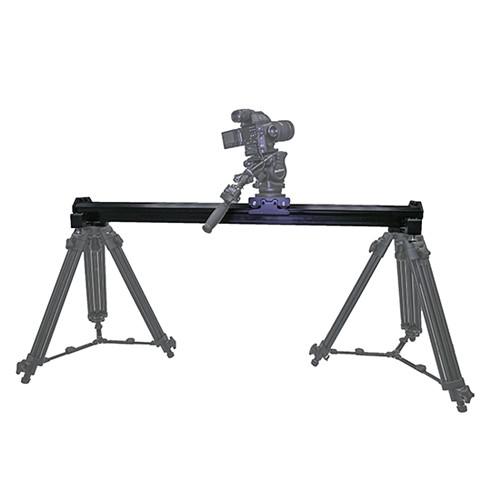 VariZoom VariSlider VSM1 Camera Slider with Pair of Tripod Mounts