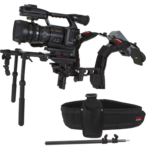 VariZoom CineRay-GT 15mm MediaRig with DV Rods