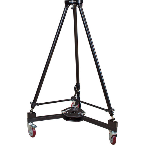 VariZoom VZ-CTD Heavy-Duty Dolly & VZ-TCR100 Crane Tripod Bundle