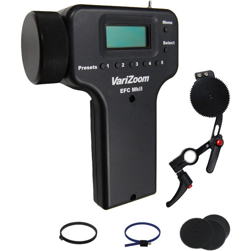 VariZoom Wired Electronic Focus Control for Canon, Fujinon, and Cine Lenses