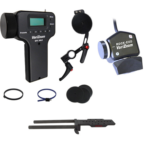 VariZoom Zoom Controller and Electronic Focus Controller Bundle for Select Sony Camcorders
