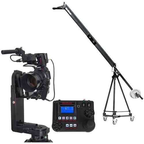 VariZoom VZQJ2K-CPJ3 QuickJib Camera Crane & CinemaPro Jr K3 Remote Head System