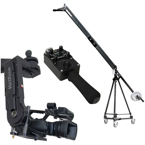 VariZoom VZQJ2K-CPJ5 QuickJib Camera Crane & CinemaPro Jr K5 Remote Head System
