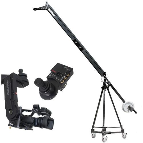 VariZoom VZQJ2K-CPJ QuickJib Camera Crane & CinemaPro Jr K4 Remote Head System