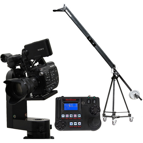 VariZoom VZQJ-CPM3 QuickJib Camera Crane & CinemaPro Micro K3 Remote Head System
