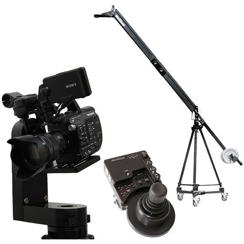 VariZoom VZQJ-CPM4 QuickJib Camera Crane & CinemaPro Micro K4 Remote Head System
