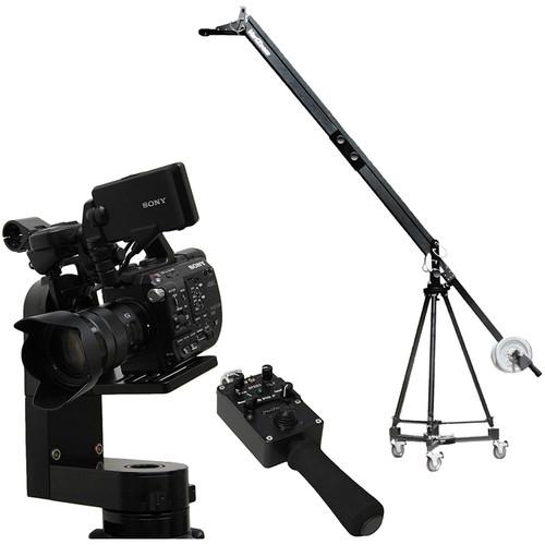 VariZoom VZQJ-CPM5 QuickJib Camera Crane & CinemaPro Micro K5 Remote Head System