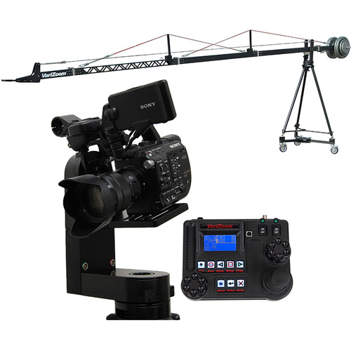 VariZoom VZSC-CPM3 SnapCrane 16 Crane & CinemaPro Micro K3 Remote Head System