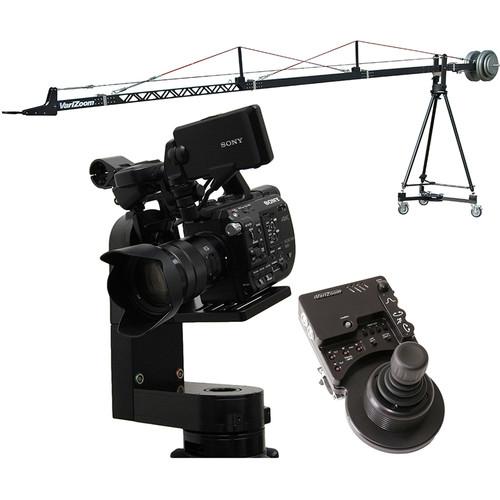VariZoom VZSC-CPM4 SnapCrane 16 Crane & CinemaPro Micro K4 Remote Head System