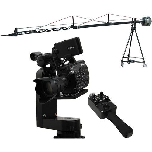 VariZoom VZSC-CPM5 SnapCrane 16 Camera Crane & CinemaPro Micro K5 Remote Head System