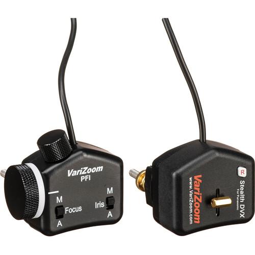 VariZoom VZSS-ZFI Zoom and Focus/Iris Lens Control Kit for Panasonic Camera