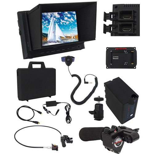 "VariZoom Zoom and Focus Control Kit with 7"" Monitor for Sony PMW-400K/350K/320K"